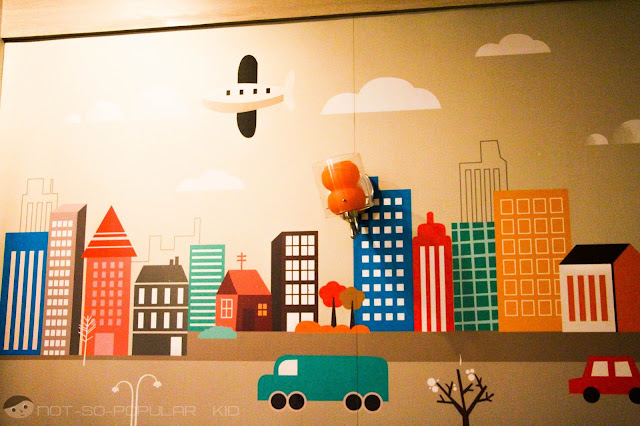 Adorable Designs on the Wall of Goodles Taft