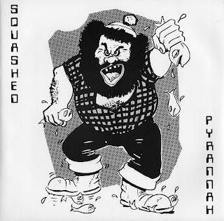 Squashed Pyrannah (UK) - Heartstop [Single] (1982) Front