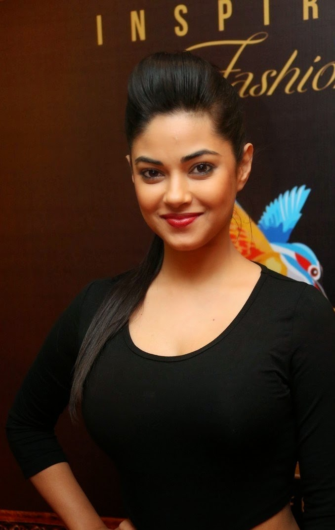 Meera Chopra In Spicy Black Suit Latest Photoshoot Stills