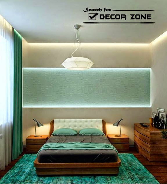 5 modern bedroom designs in turquoise color