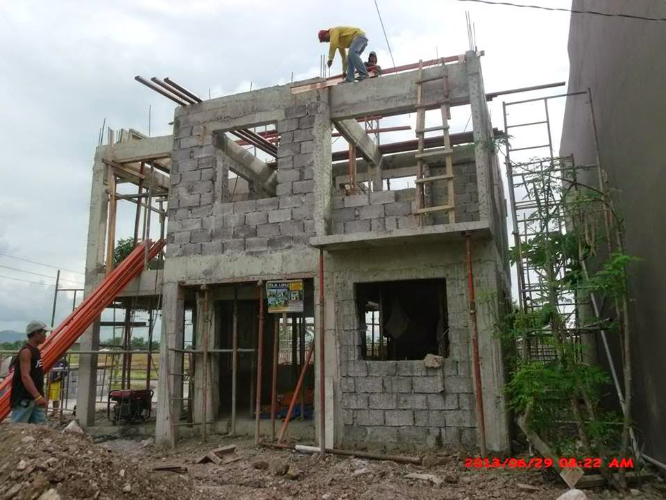 Oakwood Subdivision house construction project in Mongpong, Roxas ...