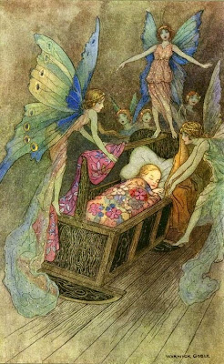 Warwick Goble Sleeping Beauty