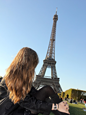 torre Eiffel, contemplação, realização