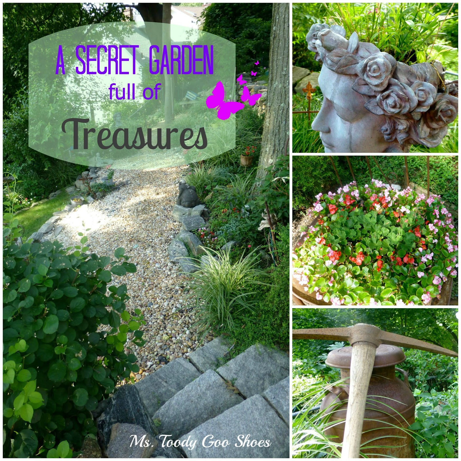 A Secret Garden of Treasures by Ms. Toody Goo Shoes