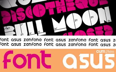 Cara Mengganti Font Asus Zenfone 5 (Tanpa Root)