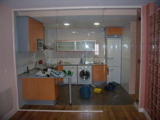 Cerramientos murcia presupuesto gratis for Separacion cocina salon