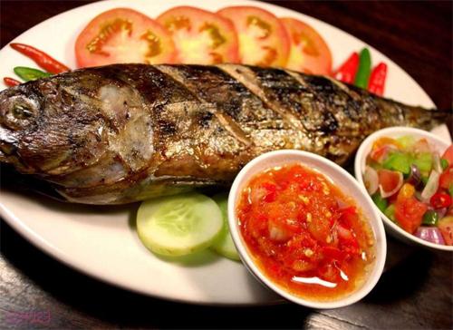 Ikan Bakar Sambal Dabu-dabu