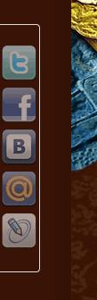 Боковая панель социальных кнопок