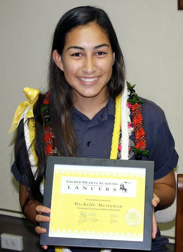 Michelle Mestanza, Lancer of the Month