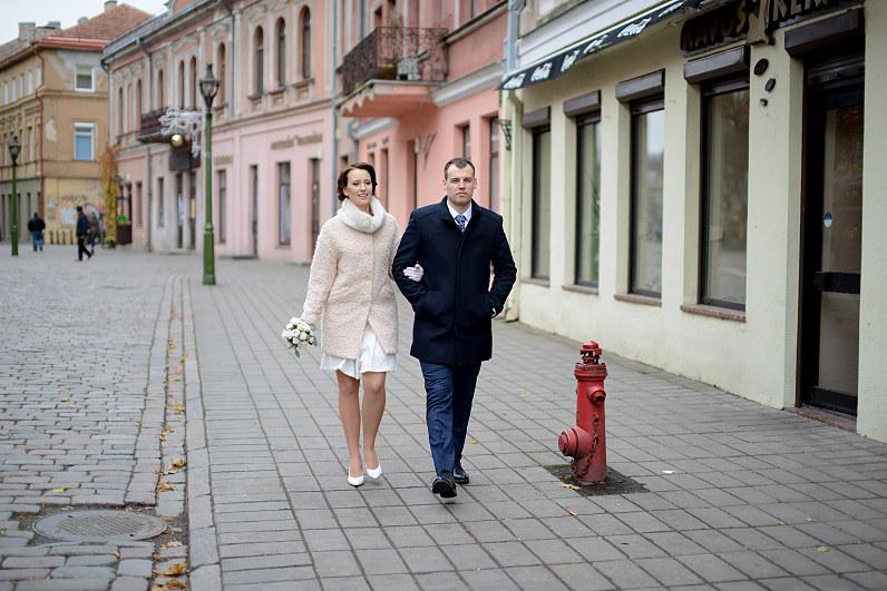 vestuvės Kaune rudenį
