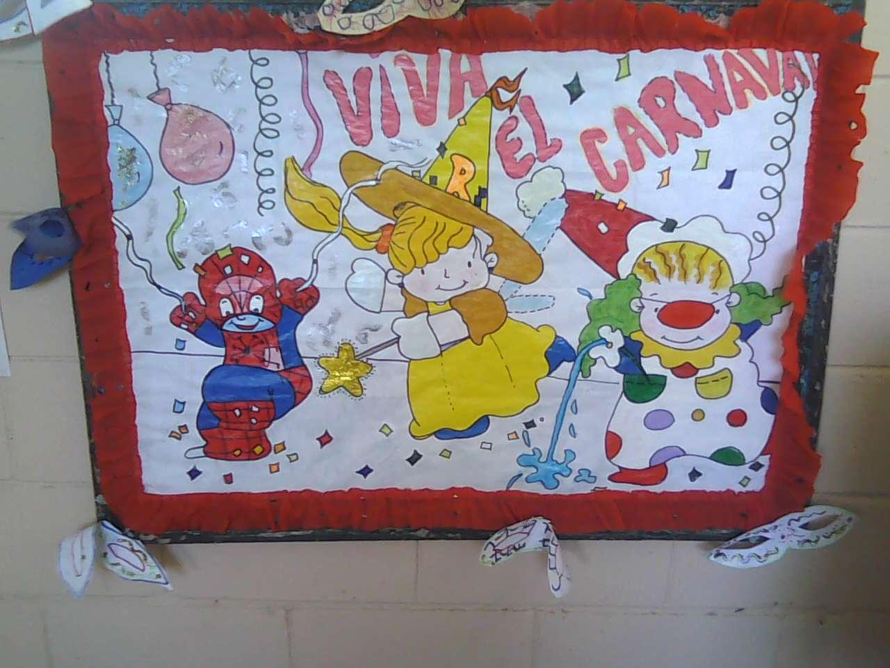 Cartelera Alusiva al carnaval