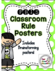 http://www.teacherspayteachers.com/Product/PBIS-Classroom-Rules-Posters-Bright-Polka-Dot-1291275