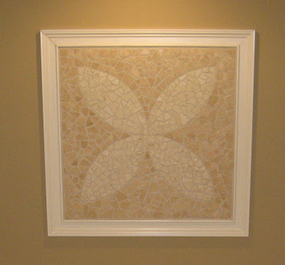 Broken Stone Tile Mosaic Wall Art