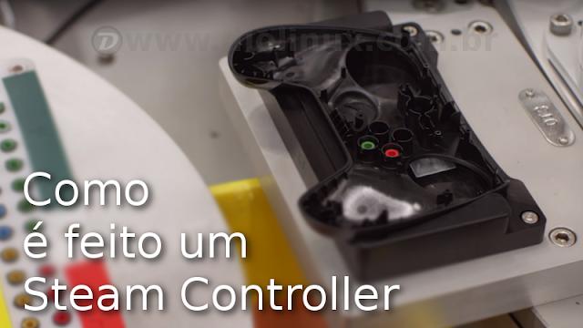 Como é feito um Steam Controller