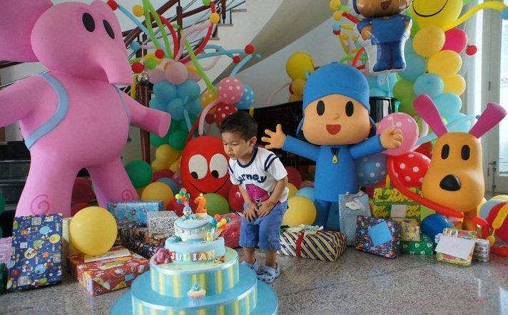 MuyAmeno.com: Fiestas Infantiles Decoradas con Pocoyo, parte 1
