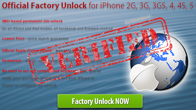Unlock iPhone 4 8GB