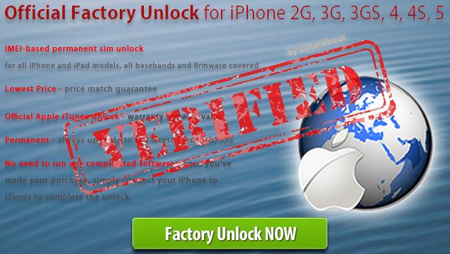Unlock iPhone 4 8GB