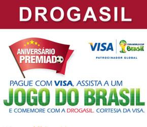 Participar promoção Aniversário Drogasil 2014