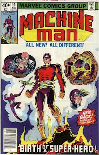 Machine Man #10