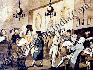 Early days of Lloyd's For merchants, the cost of losing a ship at sea could be very high, so the famous Lloyd's insurance syndicate was set up to spread the risk. Operating at first from a coffee house in Lombard Street, Lloyd's issued a fact-sheet about shipping from 1760.