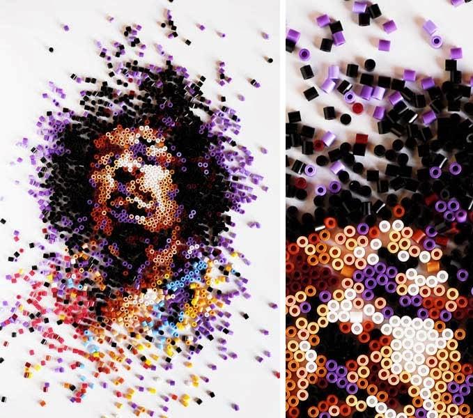 Bead Art Perles à Repasser Pixel Art ²