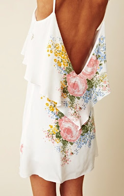 fashion blog, floral dress
