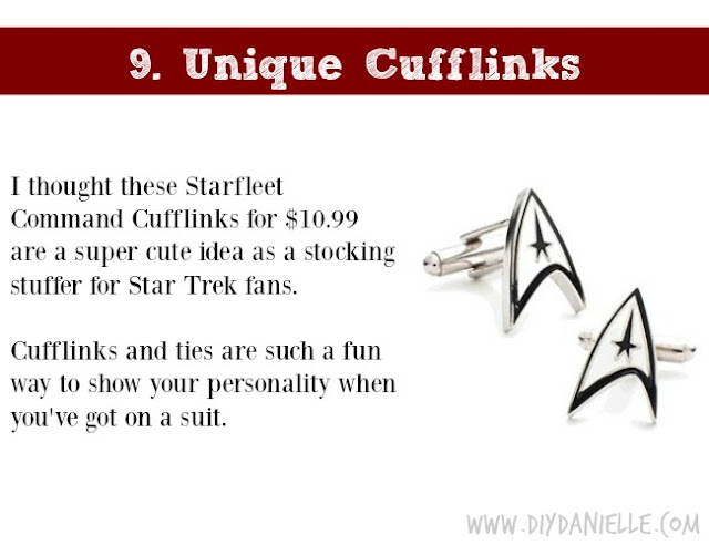 Holiday Gift Idea for Adults: Unique Cufflinks
