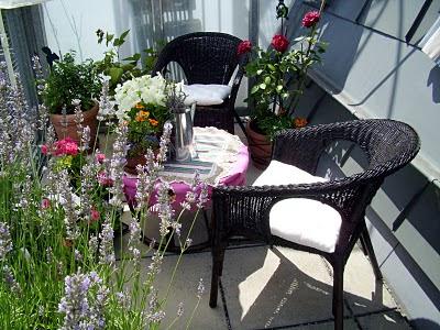 Fotos de balcones peque os ideas para decorar dise ar y - Muebles para balcon pequeno ...