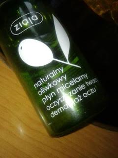 Oliwkowy płyn micelarny Ziaja