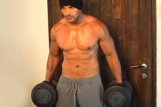 John Abraham Workout And Gym Diet Plan ~ Body Building Workout And ...