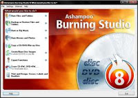 Ashampoo Burner CD:Download free cd burner software