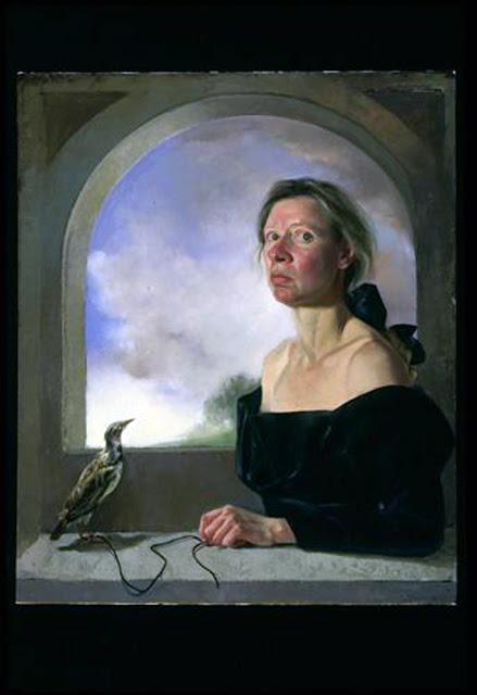 Gaela Erwin, Self Portrait, Portraits of Paniters