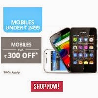 PayTM  Shopping – Rs. 200 Off on Rs. 500 for Samsung Users. for Rs. 300