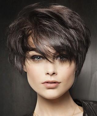 Pelo Corto Con Flequillo 2013 Peinados Para Fiestas Peinados Para