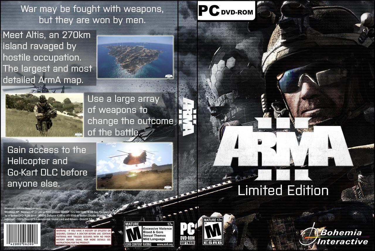 Capa Arma III Limited Edition PC