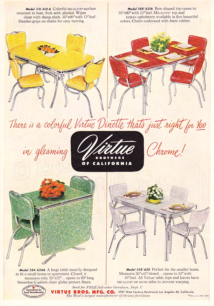 Reminisce vintage formica table - Vintage formica kitchen table and chairs ...