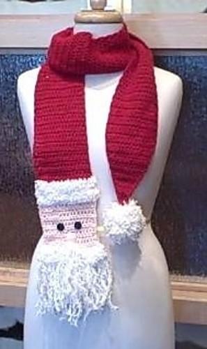 bufanda de navidad. Bufanda muy navideña