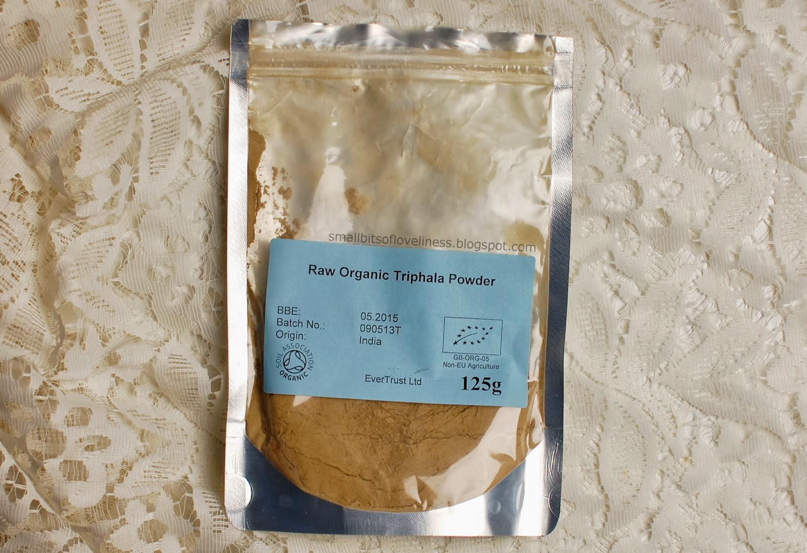 Raw Organic Triphala Powder