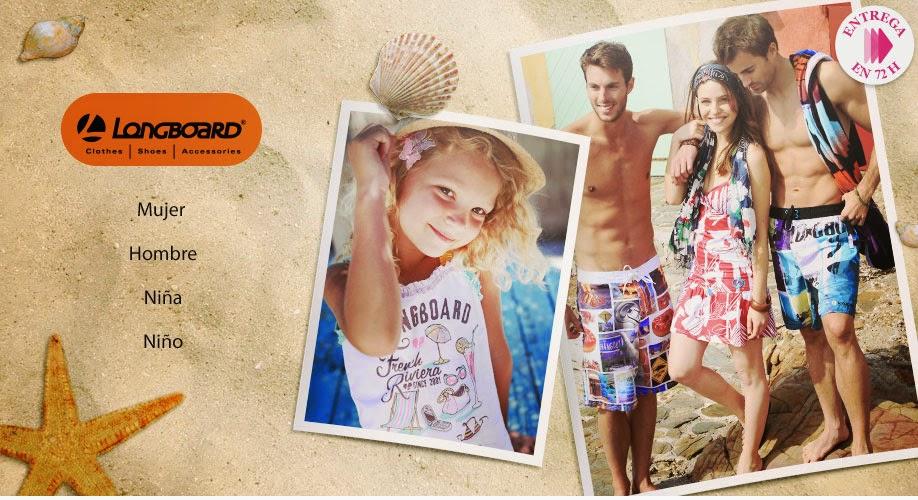 Oferta de moda verano de Longboard para toda la familia
