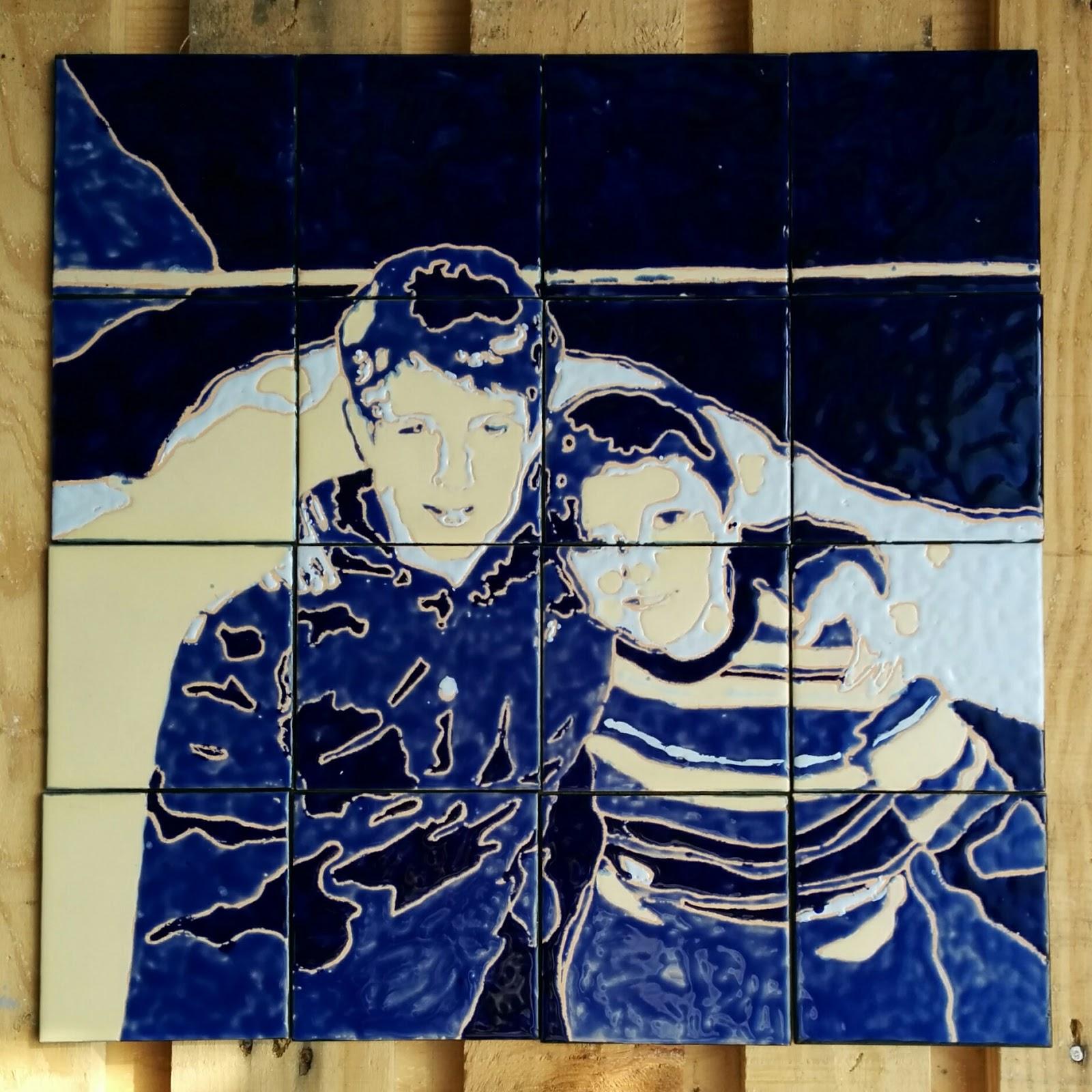 Maria lanusse taller de cer mica murales de azulejo posterizados y personalizados - Murales de azulejos ...