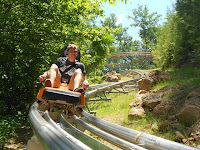 Ride the Alpine Coaster in Pigeon Forge