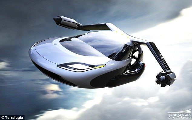 The new concept of flying cars TF-X