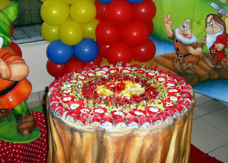 Fiesta Temática de Blanca Nieves - Snow White : Fiestas Infantiles ...
