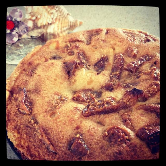 tarte aux figues séchées amandes