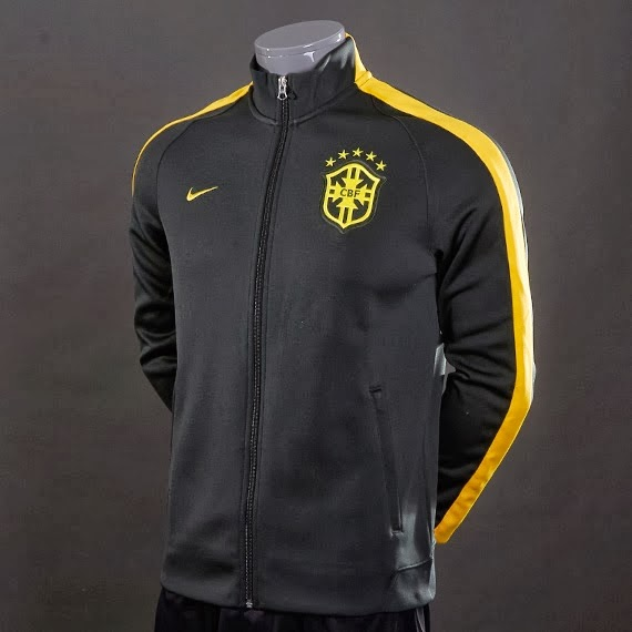 Jual+Jaket+brazil+Official+Black+Hitam+world+cup+Piala+Dunia+2014+