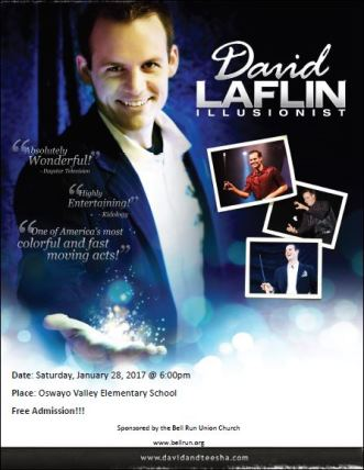1-28 David Laflin Illusionist OV Elementary