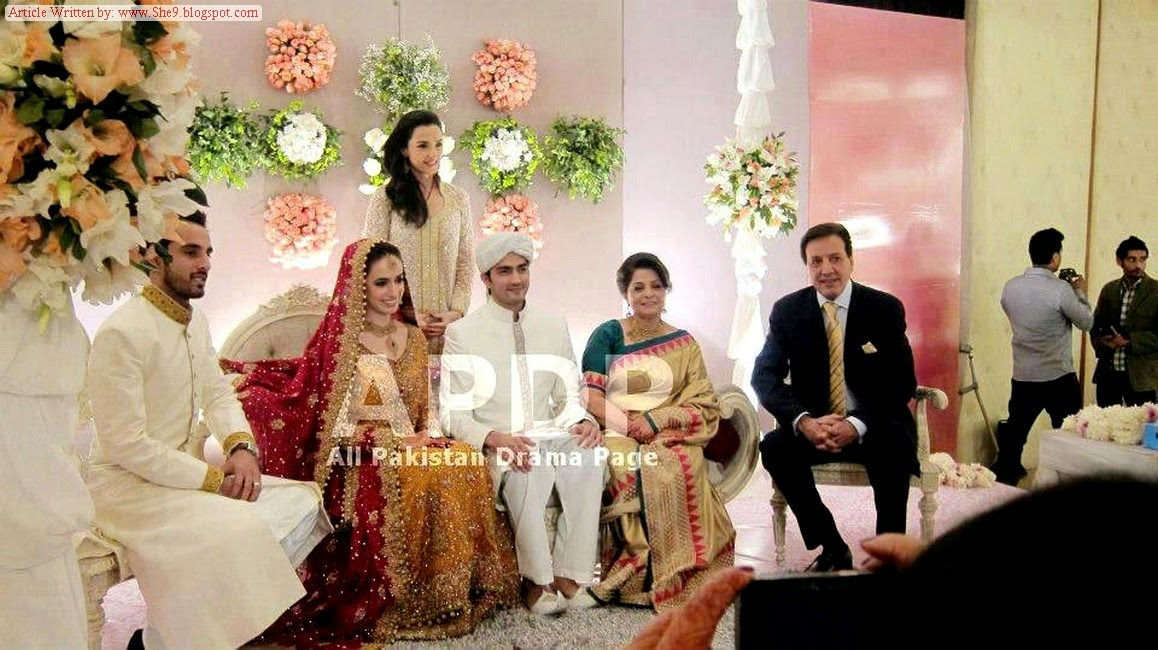 hahzad Sheikh and Hina Mir Wedding Pictures