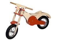 Baby moto in legno