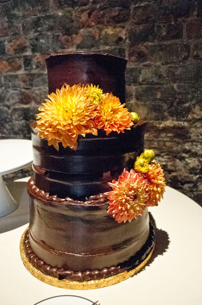 Fall Foundry LIC Wedding cake