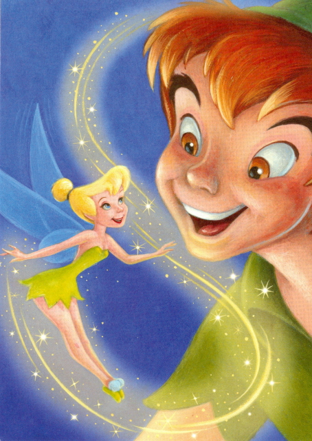 Anyone Whos Ever Dreamed Of Flying With Peter Pan And Tinker Bell Knows That All It Takes Is Faith Trust Pixie Dust